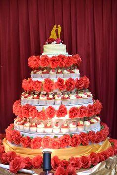 My wedding cupcakes