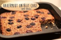 Recept: Havermout Ontbijt Cake