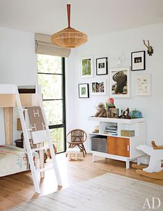 boy's room // Jenni Kayne's Family-Friendly Los Angeles Home