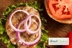 Total Choice Turkey Cheese Burger: This meal allows you to satisfy your craving without the guilt. Enjoy this recipe on the Total Choice 1200-calorie plan.