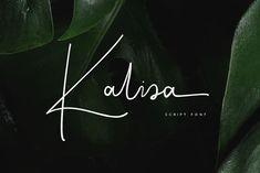 Kalisa Signature Font - Script
