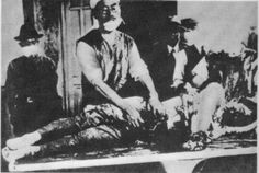 The Japanese army performed medical experimentations on humans during the early and mid-20th century. In 1935, Japan established Unit 731, a biological and chemical warfare research and development group that operated medical experimentation on humans. As a result, at least 3,000  Chinese, Russians, Mongolians and Koreans died from the experiments between 1939 and 1945. (Photo from Unit 731).