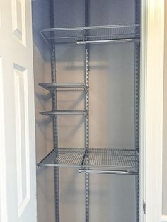 Organized Foyer Coat Closet- Before and After Makeover