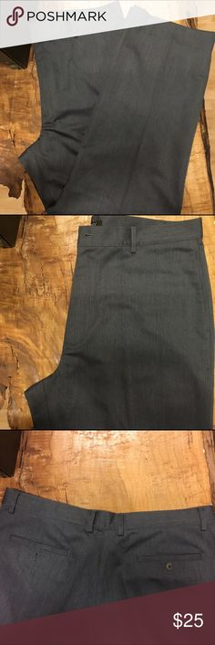 Men's DKNY dress slacks *Grey    *75% Polyester, 25% viscose     *Perfect condition     *Pleated DKNY Pants Dress