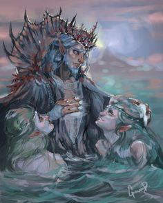 Ulmo, Osse, and Uinen