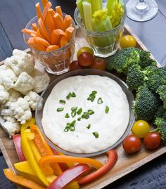 Forget Hidden Valley.  This #healthy homemade ranch takes 10 minutes tops, and is way better for you!