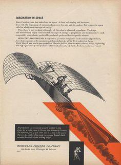 Hercules Powder Company Ad