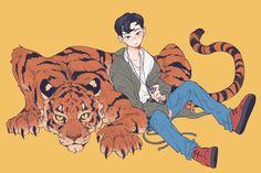 Dream by 네모밤 on FanBook Nct Dream, Mark Lee, Character Art, Character Design, Arte Peculiar, Fandom, Kpop Drawings, Kpop Fanart, Art Sketchbook