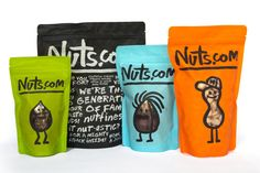 Nuts.com  Vía The Dieline (http://www.thedieline.com/blog/2012/7/17/before-after-nutscom.html)