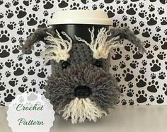 Amigurumi Dog - Crochet Pattern Dog - Crochet Dog Pattern - Dog Crochet Pattern - Crochet Pattern - Crocheting Patterns - Mug Cozy Pattern