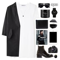 """""""my heart won't beat again, until i feel you in my veins"""" by pure-and-valuable ❤ liked on Polyvore featuring T By Alexander Wang, Cédric Charlier, Comme des Garçons, philosophy, Alessi, COSTUME NATIONAL, Eos and Monique Péan"""