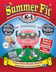 Prepare Kindergarteners mentally, physically, socially for First Grade. Contains activities in reading, writing, math and language arts, daily fitness program and core value activities to help develop