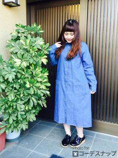 ダボッと感がかわいい♡おしゃれなしまめるコーデ♡ファッション・スタイルのアイデア☆