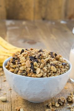 20 Homemade Granola Recipes (That Are Actually Healthy) Best Peanut Butter Brand, Peanut Butter Brands, Peanut Butter Roll, Creamy Peanut Butter, Gourmet Recipes, Snack Recipes, Cooking Recipes, Cooking Corn, Cooking Games