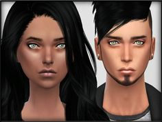 The Sims Resource: Eye Bags Set1 by Shojo Angel • Sims 4 Downloads