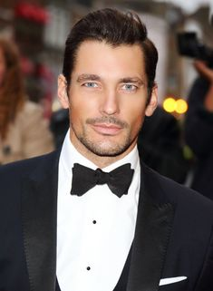 Being David Gandy: We meet the world's first male supermodel. David J. David Gandy, Famous Male Models, Androgynous Models, Gq Men, Christian Grey, Ford Models, Hairy Men, Gentleman Style, Jamie Dornan