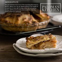 . American Apple Pie  . This pie reminds me of one of the most beautiful times in Boston where you can go apple picking in the middle of forests full of trees with orange pink red and yellow leaves.  Nothing honors this memory better than this classic American apple pie. . #PalomasKitchen #MadeAtHomeServedWithLove #American #Apple #Pie #Classic #Boston #Autumn #organic #natural #blogger #food #chef #chefsofinstagram #foodstagram #foodie #delicious #fresh #tasty #catering #delivery #provence…