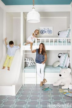 diy white loft bed ideas