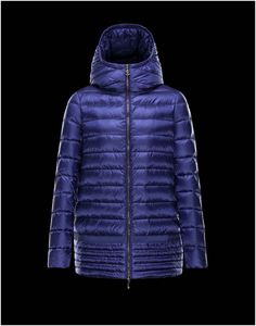 Moncler Narlay Women Logoed Enamelled Zip Puller Hood Coat Royal On Sale  Designer Outlet Online, a16aca01c7
