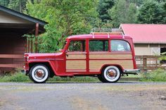 Clássic! Jeep Willys Station wagon 1957