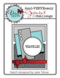 Anni-VERVE-sary 2012 Challenges Day 3: Verve Stamps - Splitcoaststampers