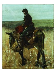 Union Soldier by William Gilbert Gaul. Giclee print from Art.com.