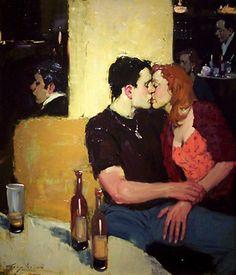Painting-Rendez-vous - Malcolm T. Liepke                                                                                                                                                                                 More