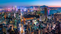 Electric Blue by andyyeungphotography When You See It, Electric Blue, Hong Kong, New York Skyline, Times Square, Urban, Explore, Travel, Instagram