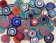 Muszelki z modeliny :)  Shells made of clay :)  (http://master-klass.livejournal.com/467275.html)