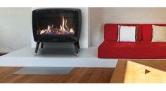 De Dovre Vintage 50 GA gaskachel biedt u alle comfort van een gasverwarming met een hoog rendement.