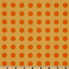 1 Yard oh deer By MoMo for Moda Yellow/Orange dot by JnKDesigns09, $8.50