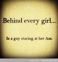 Behind every Girl ... xD