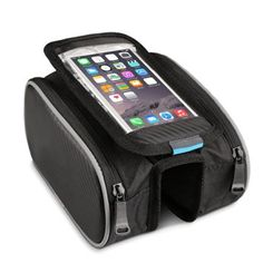 Topist Bike Frame Bag,5.5 inch Shockproof Mountain Bike Road Bicycle Cycling Front Frame Touch Bag Tube Pannier Saddle Bag Double Pouch for iPhone 6S 6 5S Samsung Galaxy S3 S4 Note and other Below 5.5 inch Cellphone: Amazon.co.uk: Sports & Outdoors