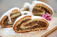 Nussstrudel-6 Cake Recipes, French Toast, Pie, Sweets, Breakfast, Desserts, Christmas Recipes, Sweet Stuff, Cakes