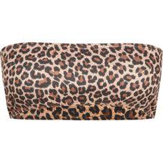 Cheetah Print Bandeau $8.99