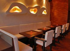 burger cafe design - Google Search