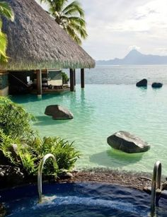 Intercontinental resort on Tahiti.I want to go see this place one day. Please check out my website Thanks.  www.photopix.co.nz