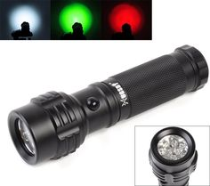 Welltop® 11-LED 3 X AAA Batteries Powered Mini Pocket lights White Green Red Tri-Color Flashlights 3-mode Trichrome LED Flashlight Road Signal Torch 11 LED Flashlight Penlight Torch * Find out more about the great product at the image link.