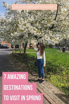 Looking for spring destinations? Discover seven amazing cities you can't miss. | My Little World of Travelling | #springdestinations #travelguide #travelinspiration #travelguide