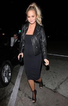 Chrissy Teigen's Maternity Style Has Officially Entered Kim Kardashian West Territory