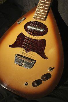 1962 Danelectro Bellzouki 12-String