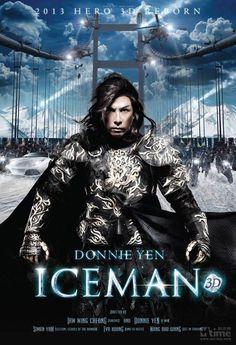 Donnie Yen 'Iceman 3D' Movie Poster - http://www.karisauce.com/donnie-yen-revealed-iceman-3d-movie-poster/