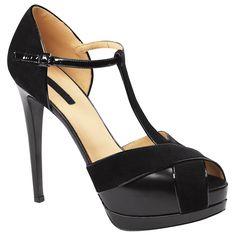 Longchamp...  Shoes - Pois - Heeled sandals!!!