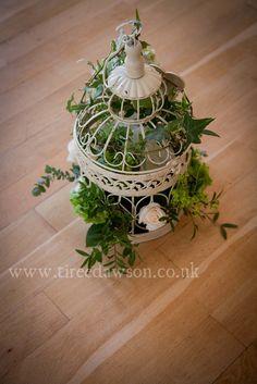 birdcage vintage wedding floristry tiree dawson