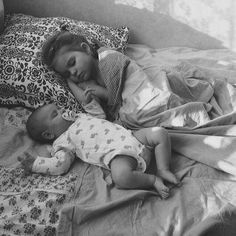 """""""I have too many pictures of my children sleeping,"""" said no one.  Ever."""