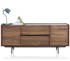 Das Lowboard Bogota aus dem Hause xooon überzeugt mit einem schlichten, aber dennoch schicken Design im Loft Stil. Loft Stil, Sideboard, Buffet, Cabinet, Storage, Furniture, Home Decor, Products, Closet Shelves
