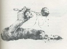 Stephen Gammell Illustrations | Stephen Gammell Illustration for Scary Stories to Tell in the Dark 2 ...