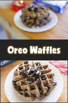 The best Christmas Oreo Waffles you will ever make! Watch the on how I made this The best Christmas Oreo Waffles you will ever make! Watch the on how I made this Vegan Christmas Desserts, New Year's Desserts, Waffle Maker Recipes, Mexican Dessert Recipes, Vegan Candies, Snacks, Baking, Food, Watch