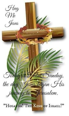 ❤️Today is Palm Sunday