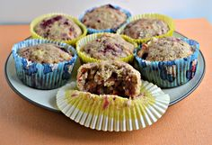 Banana Raspberry Muffins (with hidden vegetables): Daring Bakers - Hezzi-D's Books and Cooks